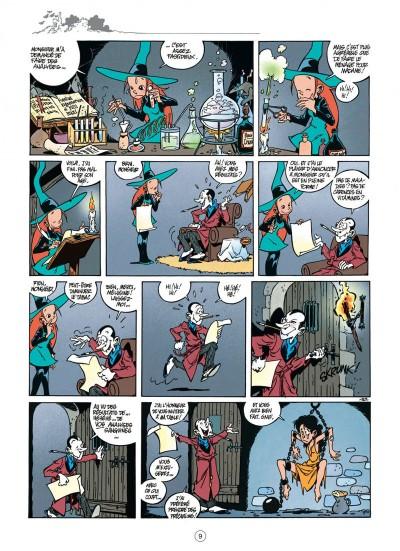 """Mélusine Tome 1 """"Sortilèges"""" page 9 chez Dupuis"""
