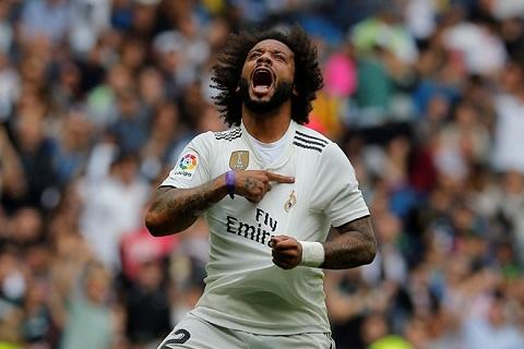 Marcelo là một trong những quân bài thi đấu ổn định nhất trên hành trình vô địch