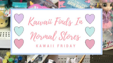 """Shopping/Thrifting for Kawaii Items In """"Normie"""" Stores Part 1- Kawaii Friday"""