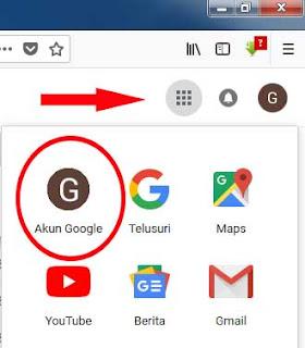 hapus google akun lewat hp