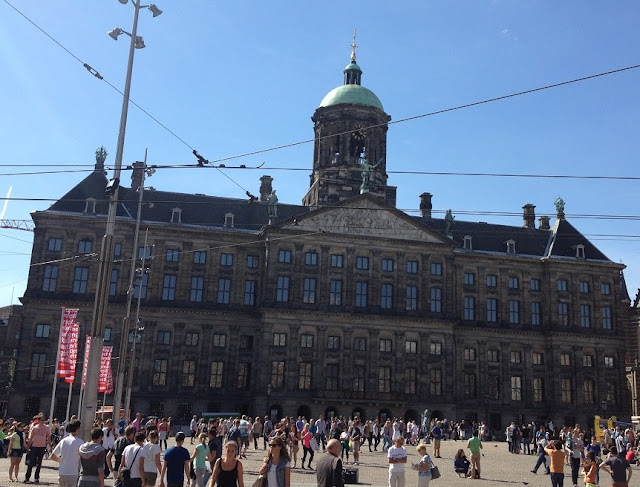 Dam Square - Royal Palace Amsterdam