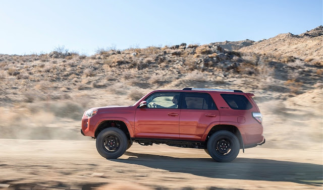 2015 Toyota 4Runner TRD Pro Series red