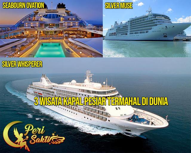 3 Wisata Kapal Pesiar Termahal Didunia