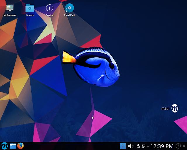 Lançada a versão 2.1 da distribuição Maui Linux