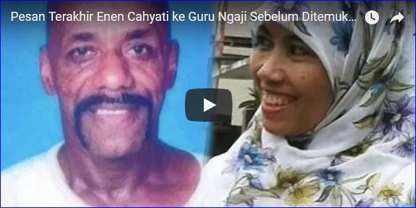 Pesan Terakhir Enen Cahyati ke Guru Ngaji Sebelum Tewas Dibunuh Suami di Kamboja