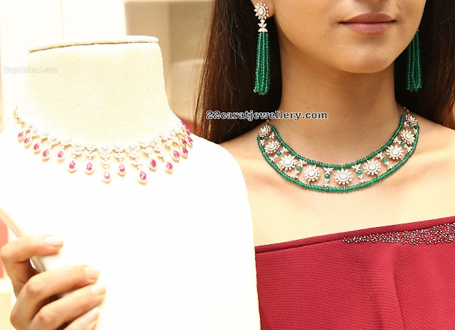 Varshini Sonderajan at PMJ Jewels