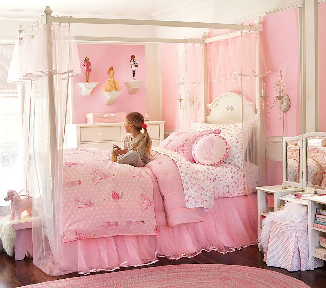 Little Girl Pink Bedroom Ideas | Bathroom Latest Collections