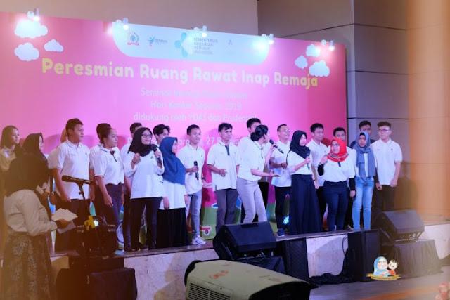 ruang rawat inap remaja RS Kanker Dharmais Jakarta