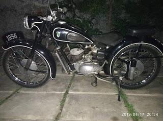 Dijual Motor Klasik DKW UNION 1956