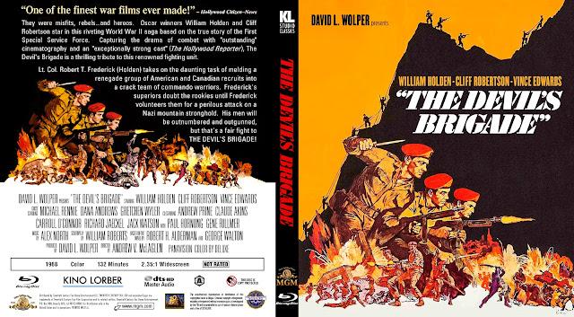 The Devil's Brigade Bluray Cover