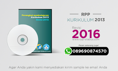 RPP Kurikulum 2013 Edisi Revisi 2016 lengkap
