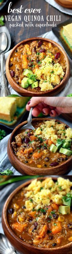 Best Ever Vegan Quinoa Chili