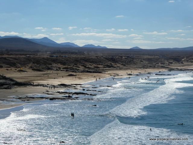 acantilados y playas de Fuerteventura