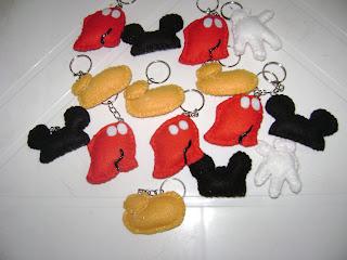 DSC05777 - Lembrancinhas do Mickey em feltro
