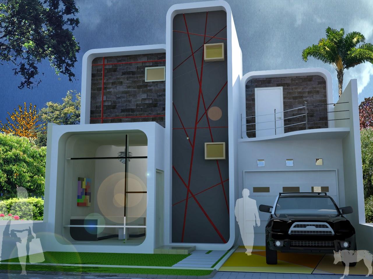 Model Rumah Minimalis 2 Lantai Kecil Desain Rumah Minimalis