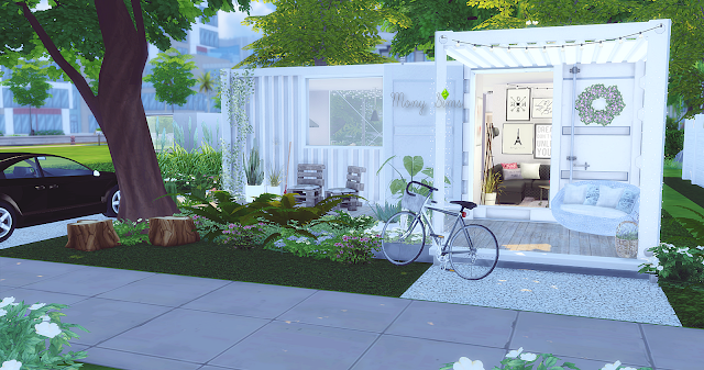 Container Home Sims