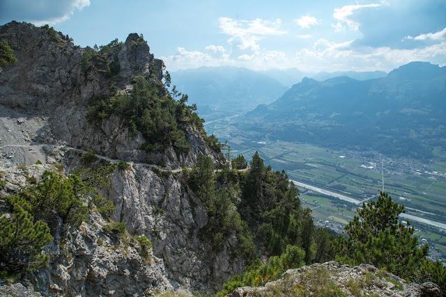 Fürstensteig  Gafadura Hütte - Drei-Schwestern - Gaflei  Wandern in Liechtenstein 21