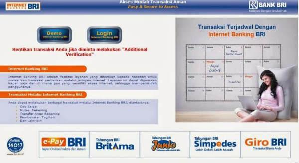 Buka Blokir User ID BRI Internet Banking di Mesin ATM