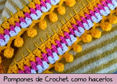 Pom pom de Crochet video tutorial