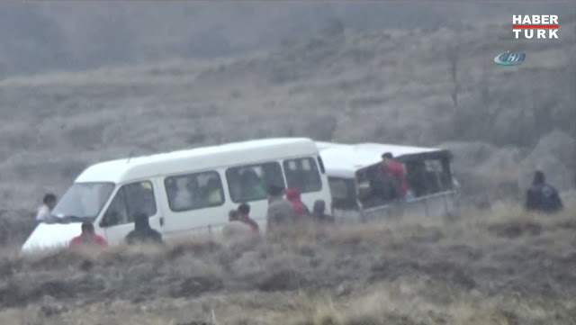 Three hot air balloons crashed dozens of people injured