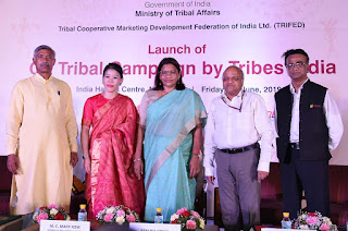 'Go Tribal' campaign Launched for promoting Indian Tribal