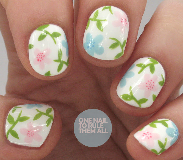 One Nail To Rule Them All Barry M Nail Art Pens Review: One Nail To Rule Them All: It's Floral Time