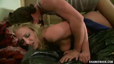 Hottest Blonde raped ever seen