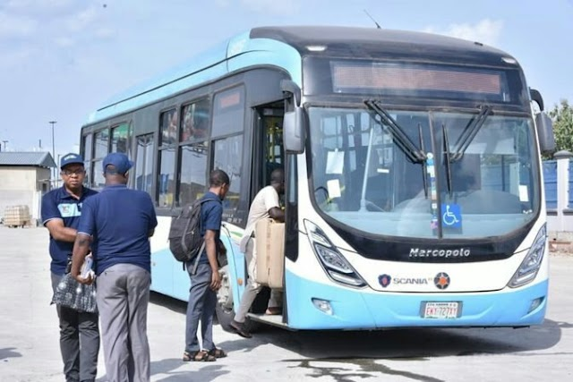 Lagos Government Launches New Buses With Free Service On Five Routes (Photos)