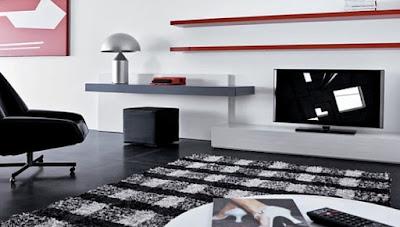 Living Room Minimalist Modern 2017