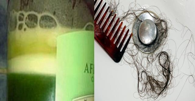 shampoo cabello
