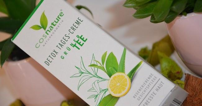 Naturalny krem DETOX na dzień z zieloną herbatą