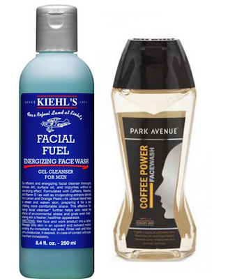 Facial Fuel Energising Face Wash (or a cheaper alternative is Park Avenue Coffee Powder Face Wash)