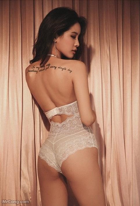 Image Korean-Model-Ju-Woo-012018-MrCong.com-011 in post Người đẹp Ju Woo trong bộ ảnh nội y tháng 01/2018 (50 ảnh)