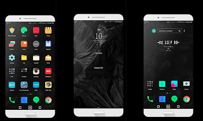 Black Magic Theme hwt For Emui 5 / 8
