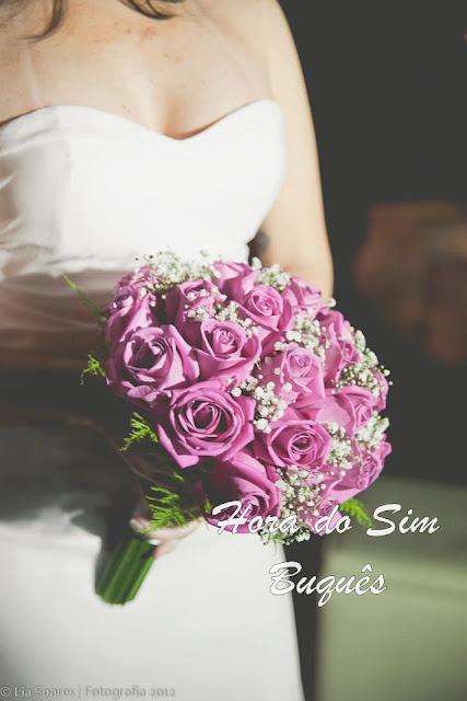 (518)Buquê de Noiva Romântico