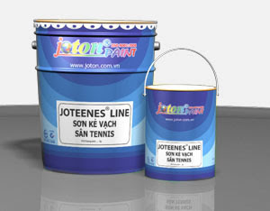 Sơn Joton kẻ vạch sân tennis Joneenesline