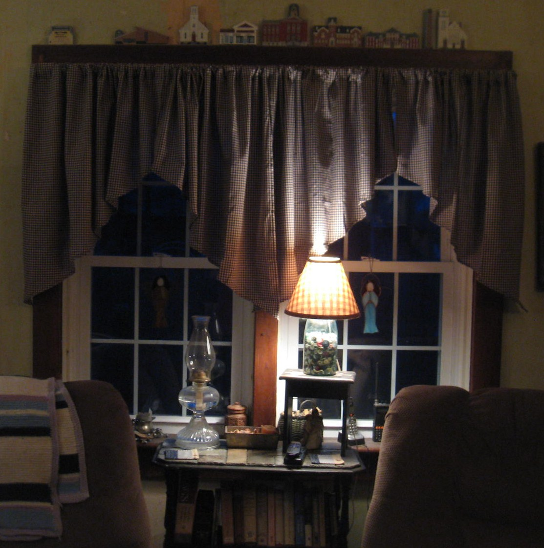 The Country Blossom: New Living Room Curtains