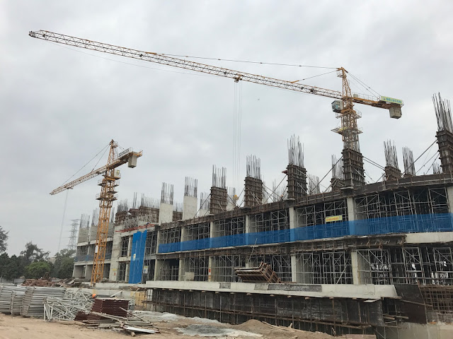 Hình ảnh thi công xây dựng tòa CT1 Gelexia Riverside