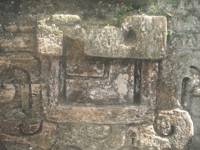 Tikal National Park Guatemala Mayan ruins carving