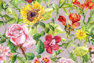 meadow-flowers-field-herbs-vintage