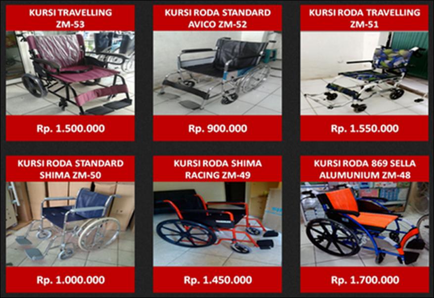 Kursi Roda Murah Di Bogor TKRM