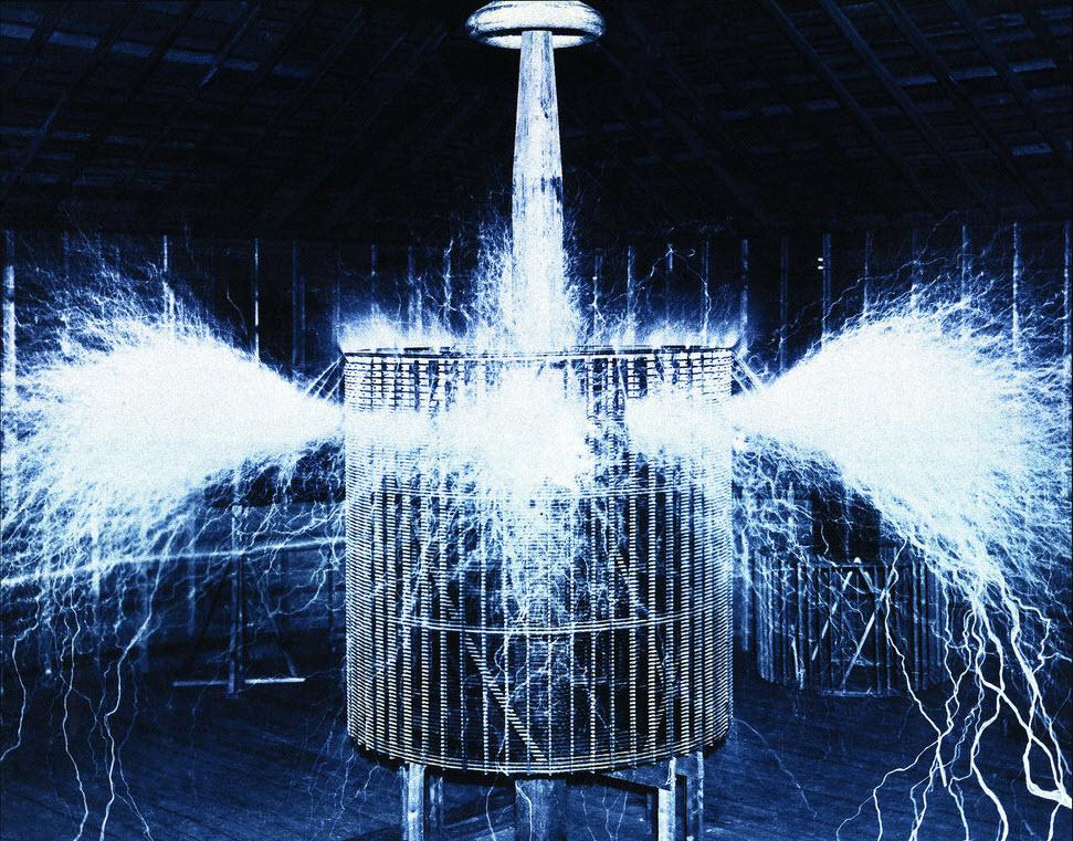 Nikola Tesla's Experimental Laboratory