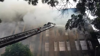 Mumbai Income Tax Office Fire