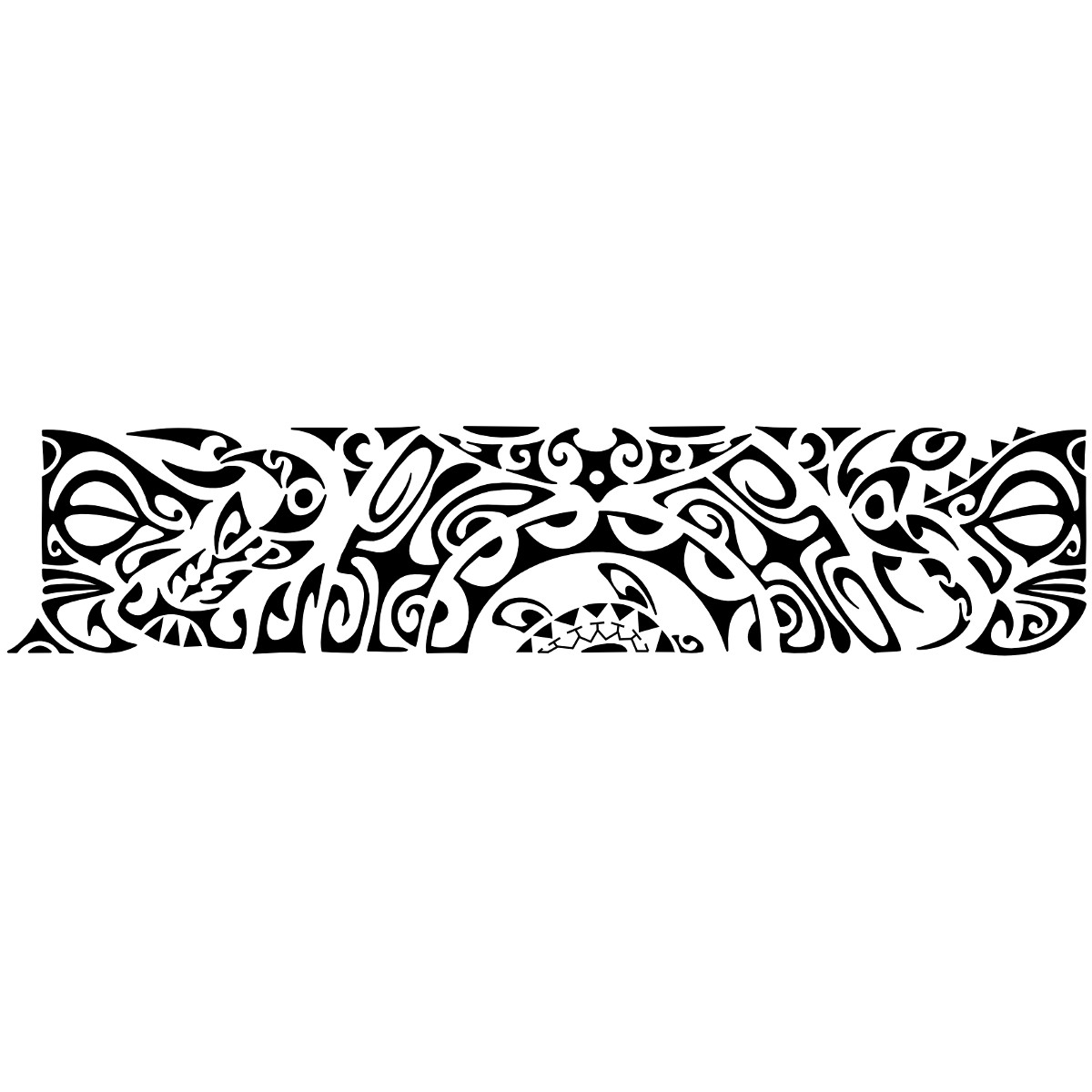 Maori Tattoo Armband: 8 Awesome Armband Tattoo Designs