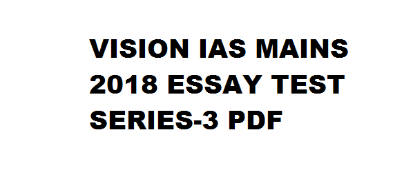 Click here for Prelims Test Series