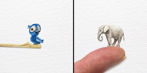 00-Frank-Holzenburg-Animals-and-Fantasy-Creatures-Tiny-Paintings-www-designstack-co