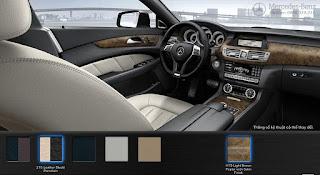 Nội thất Mercedes CLS 350 2015 màu Đen Leather/Porcelain 215