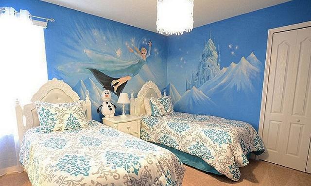 dormitorios tem ticos de frozen para ni as