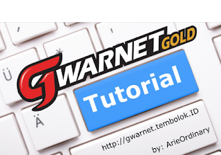 tutorial cara memasang gwarnet gold dirumah menggunakan modem