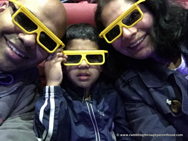 4D cinema at Legoland Discovery Centre
